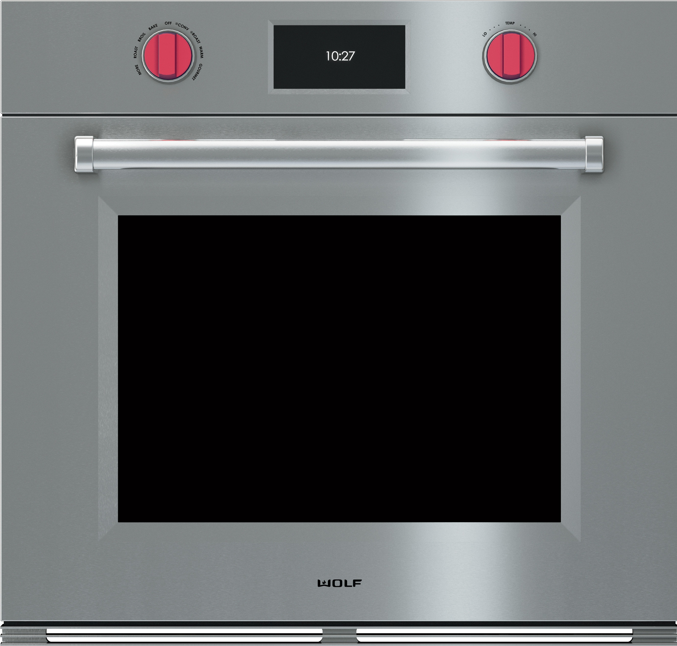 Single Wall Ovens ~ Wolf so pmsph inch single electric wall oven with