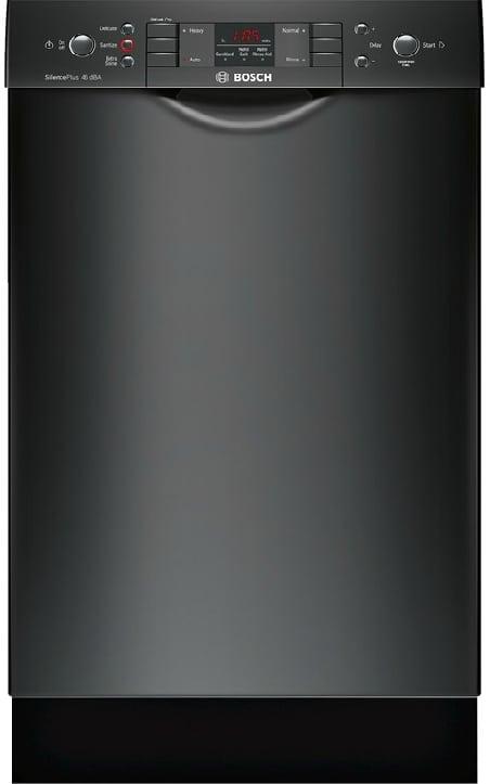 Bosch Spe53u56uc 18 Inch Full Console Dishwasher With