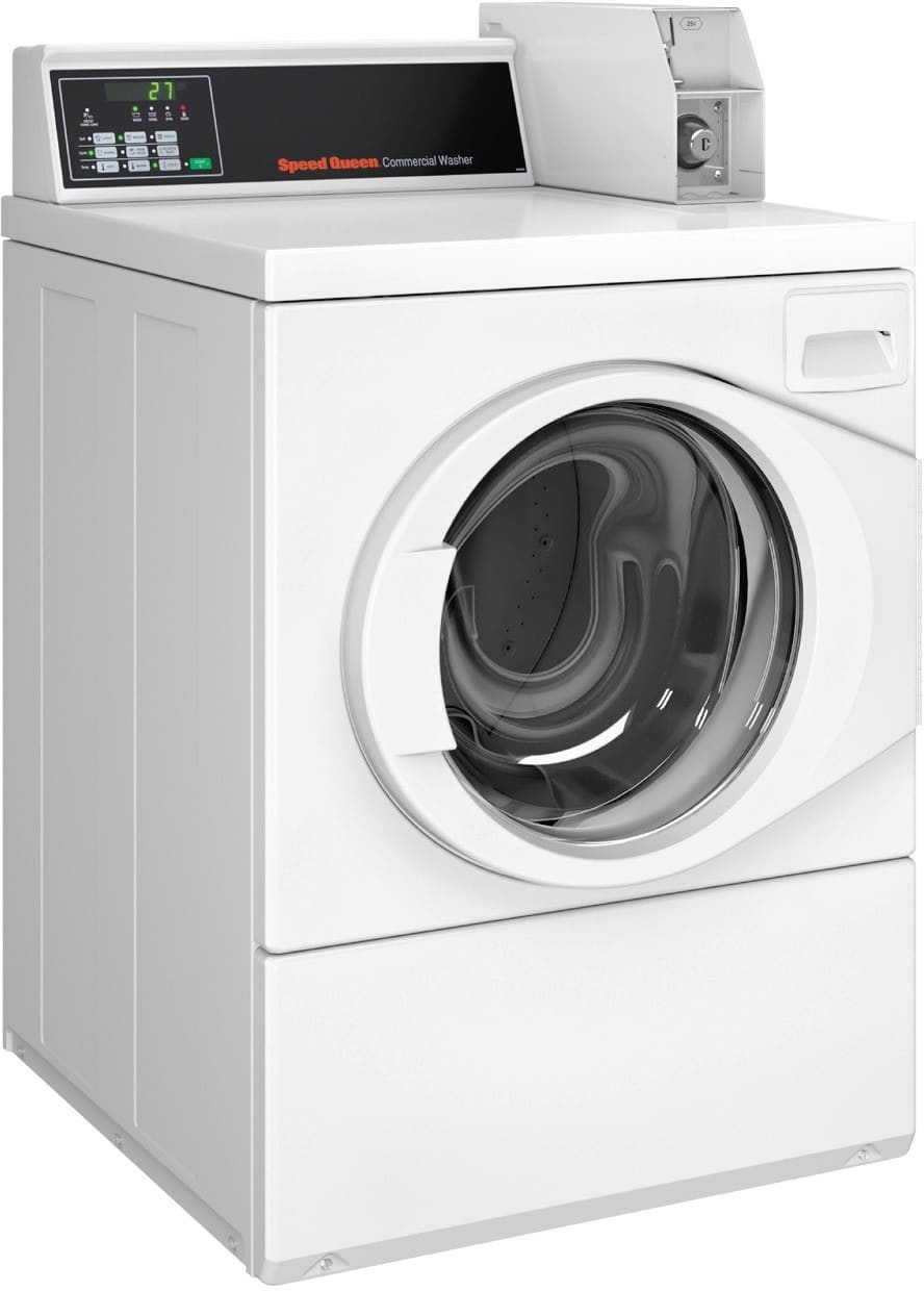 Commerical Washer For Home ~ Speed queen sfnncrsp tw inch front load commercial