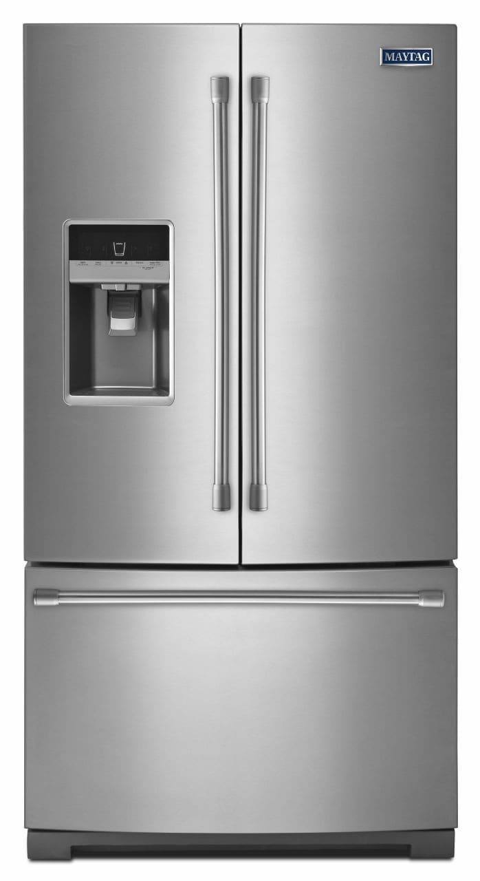 Maytag Mft2574dem 24 7 Cu Ft French Door Refrigerator