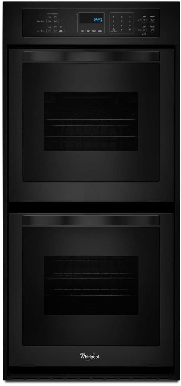 Whirlpool Wod51es4eb 24 Inch Double Electric Wall Oven