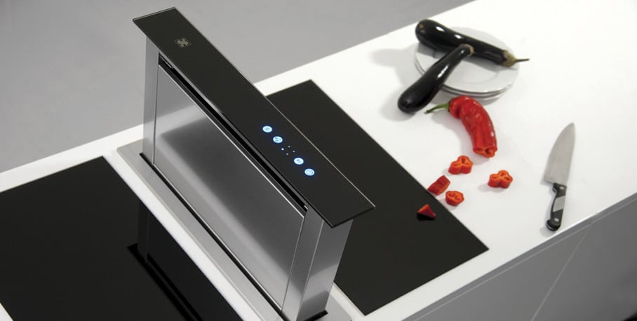 Amana Draft Down Cooktops ~ Sirius sudd inch side mounted downdraft ventilation
