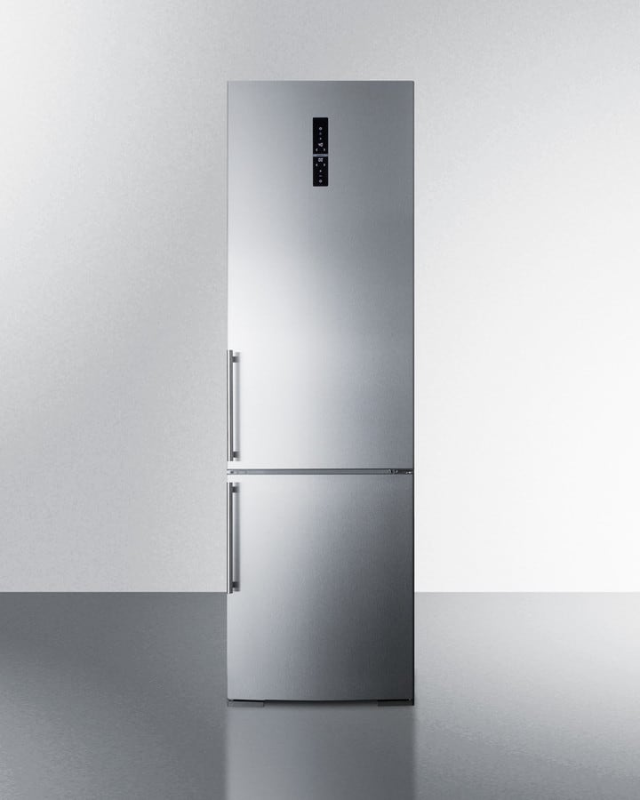 Summit Ffbf181es 24 Inch Bottom Freezer Refrigerator With