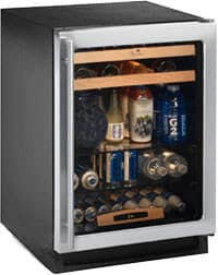U Line U1224bevs00a 24 Inch Built In Beverage Center With