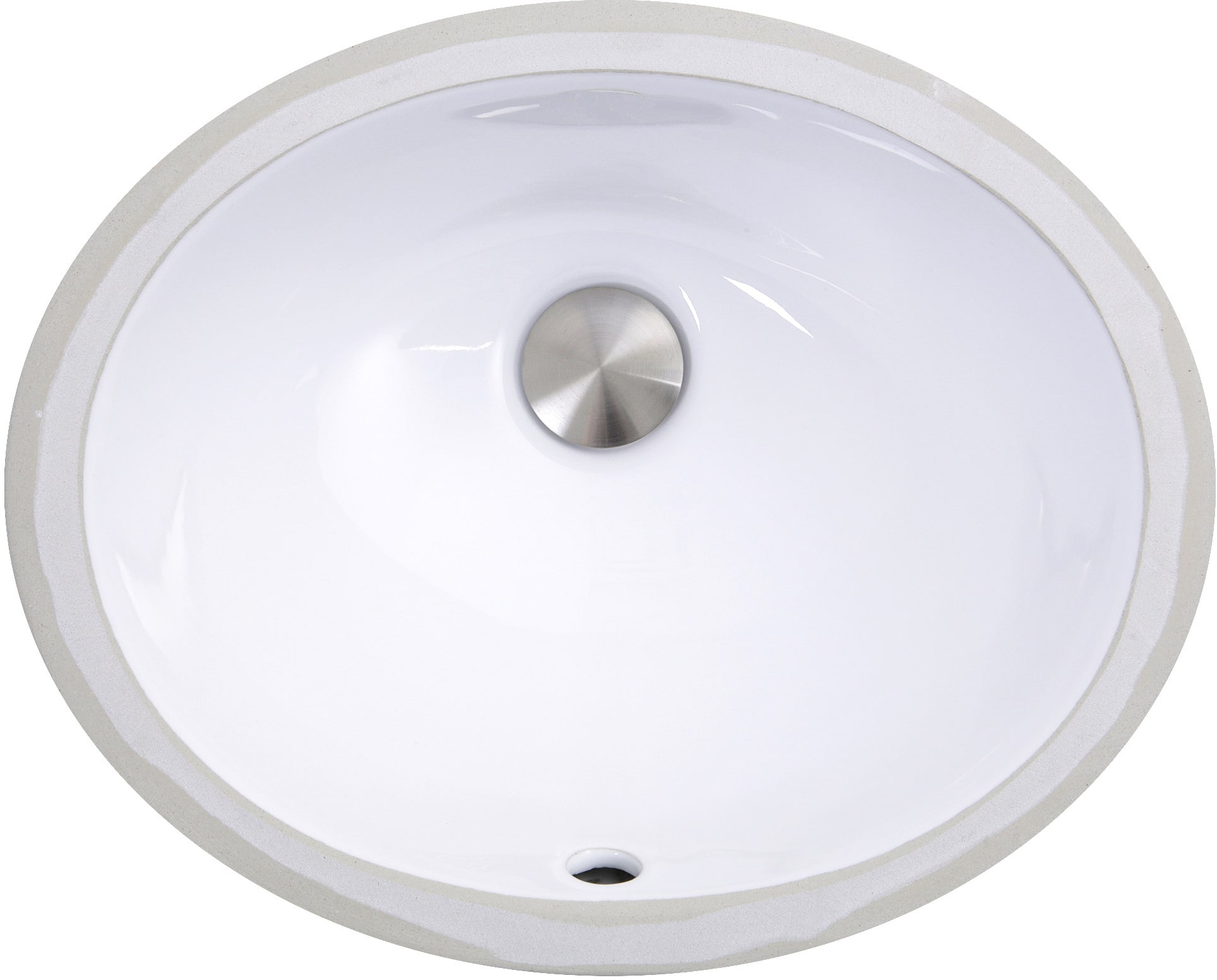 Nantucket Sinks UM13X10W 15 Inch Undermount Bathroom Sink ...