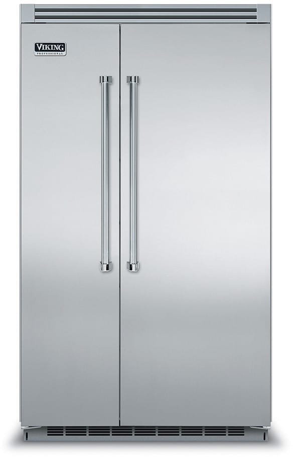 Viking Vcsb5483ss 48 Inch Built In Side By Side Refrigerator With