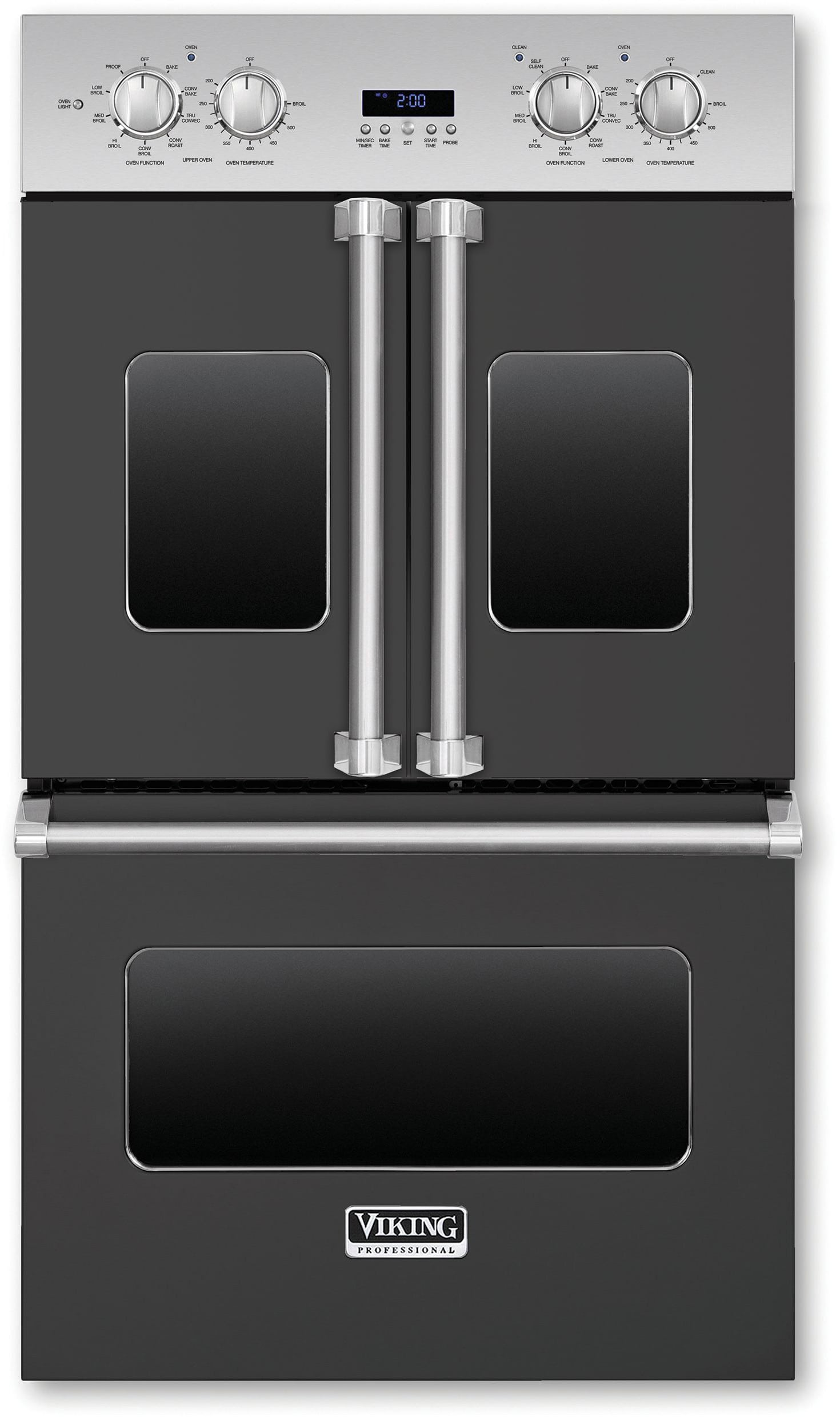 Viking Vdof730gg 30 Inch Double Electric French Door Oven