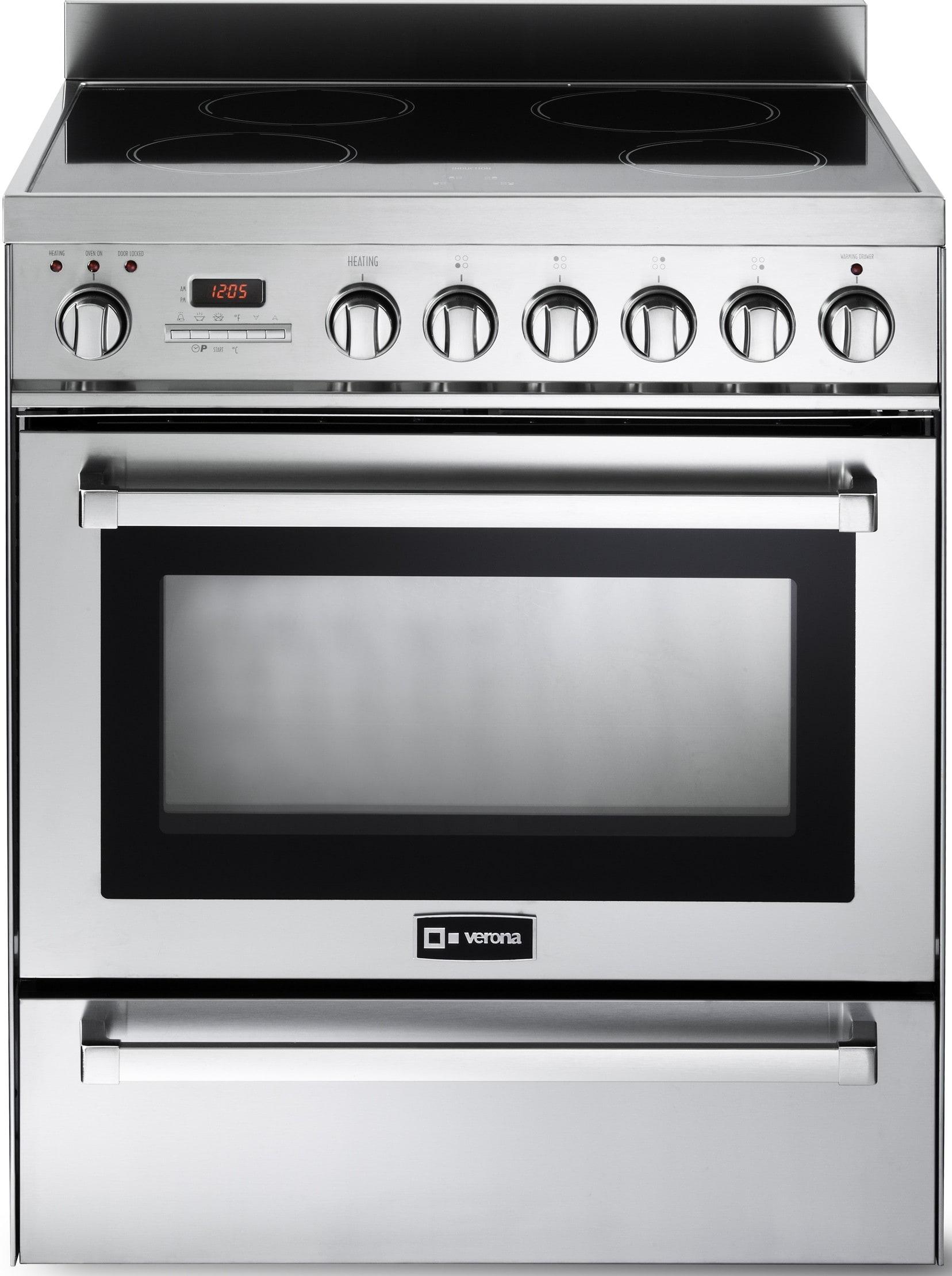 Induction Cooking Ranges ~ Verona vefsie pss inch freestanding induction range