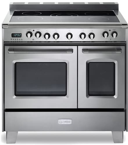 verona vclfsee365dss 36 inch double oven electric range with 3 9 cu