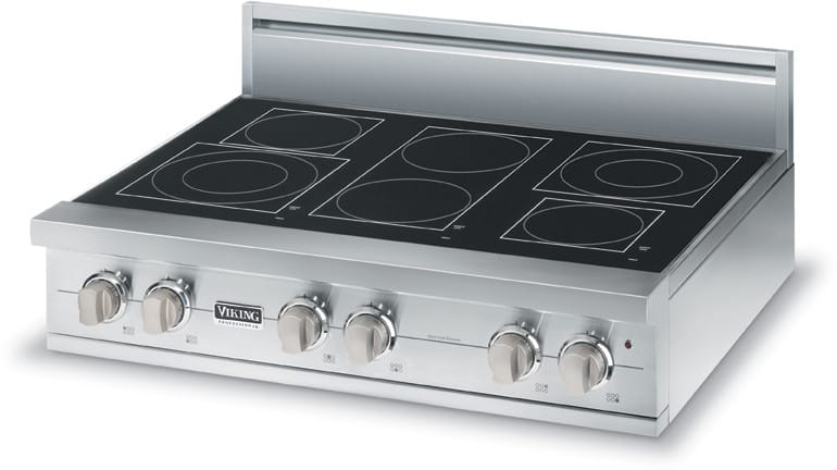 Viking Vert5366bsb 36 Inch Pro Style Electric Rangetop