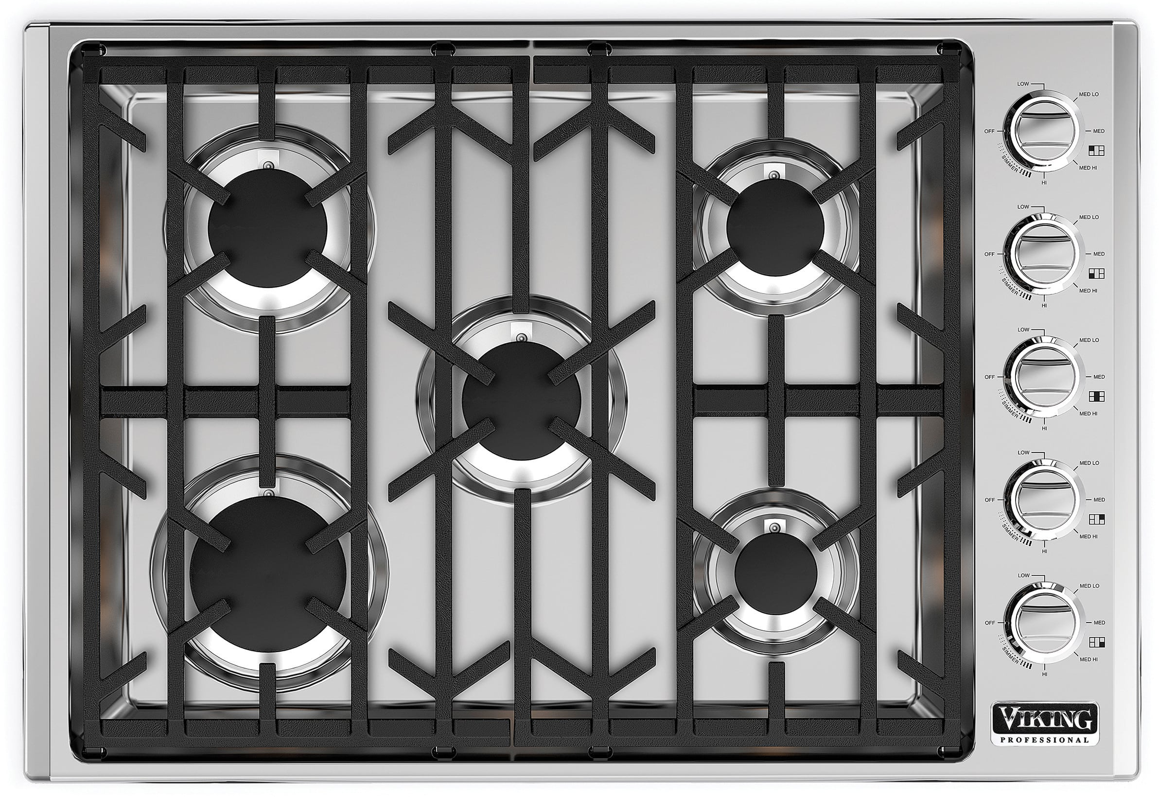 Natural Gas Cooktop Electric Oven