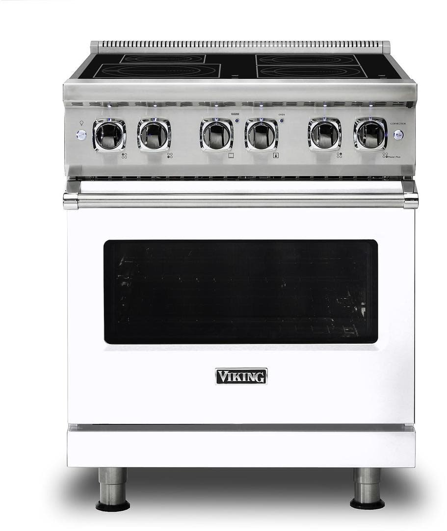 Viking Vir5304bwh 30 Inch Electric Induction Freestanding