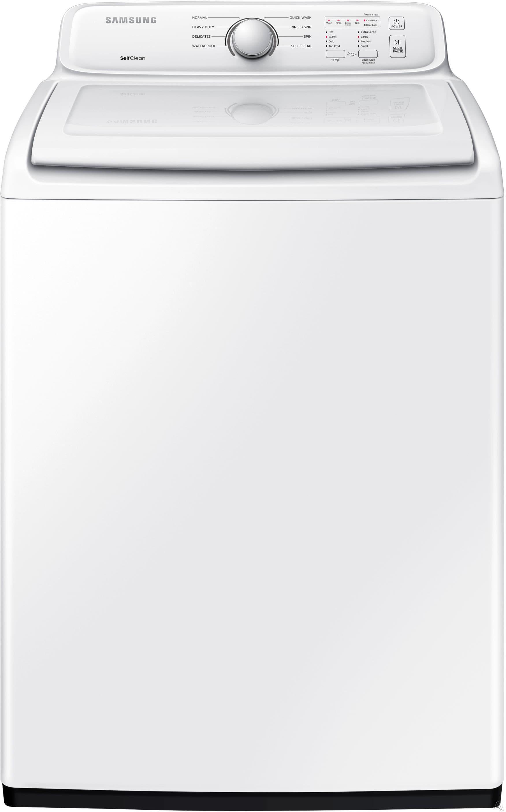 Samsung Wa40j3000aw 27 Inch 4 0 Cu Ft Top Load Washer