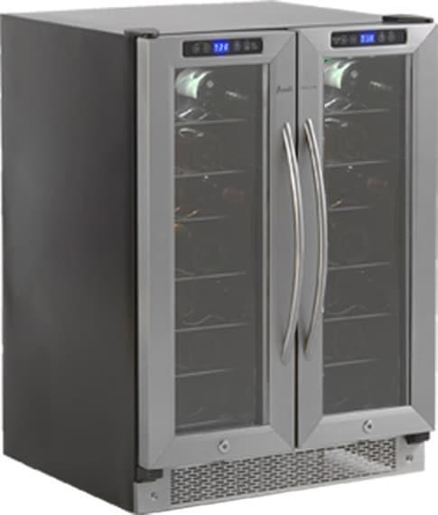 Avanti Wcv42dz 24 Inch Undercounter Dual Zone Wine Cooler
