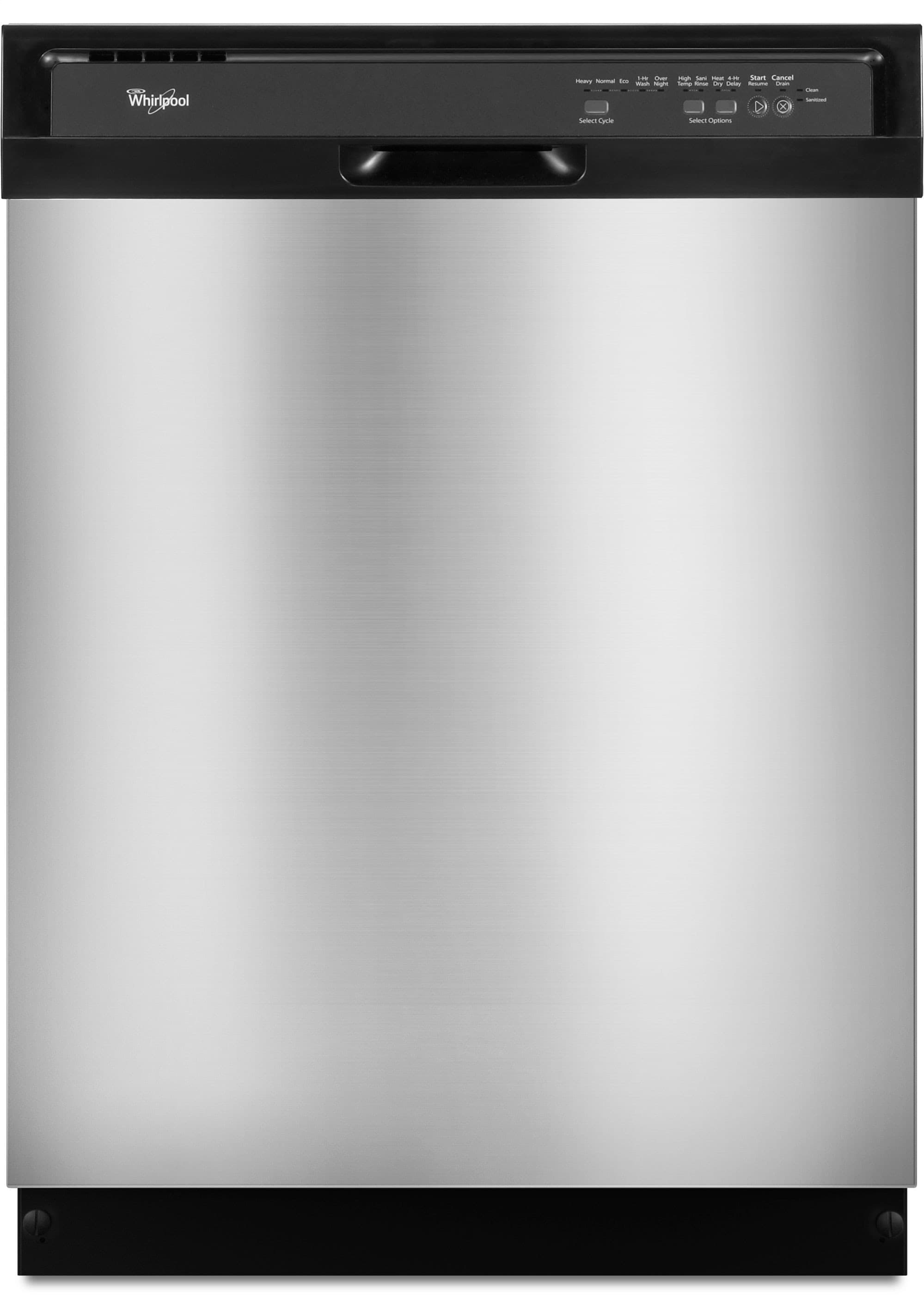 Whirlpool Wdf510pays Full Console Dishwasher With 14 Place