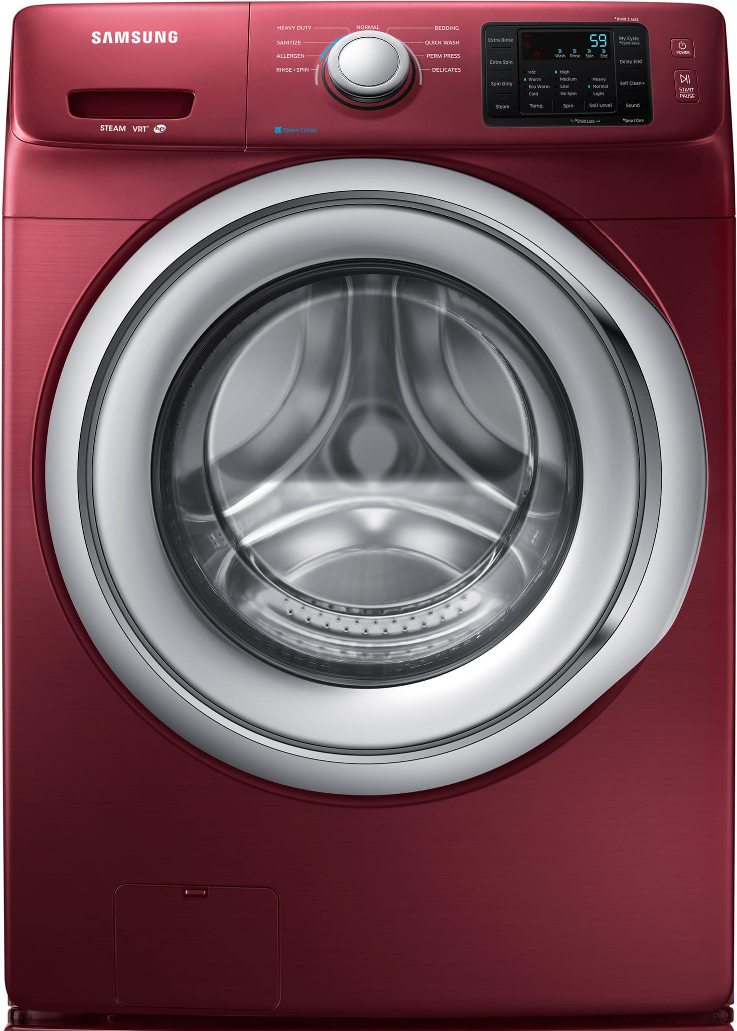 Samsung Wf42h5200af 27 Inch 42 Cu Ft Front Load Washer With Steam Together Electric Clothes Dryer Additionally Maytag Wash Nsf Certified Self Clean Allergen Cycle Sanitize 9 Cycles