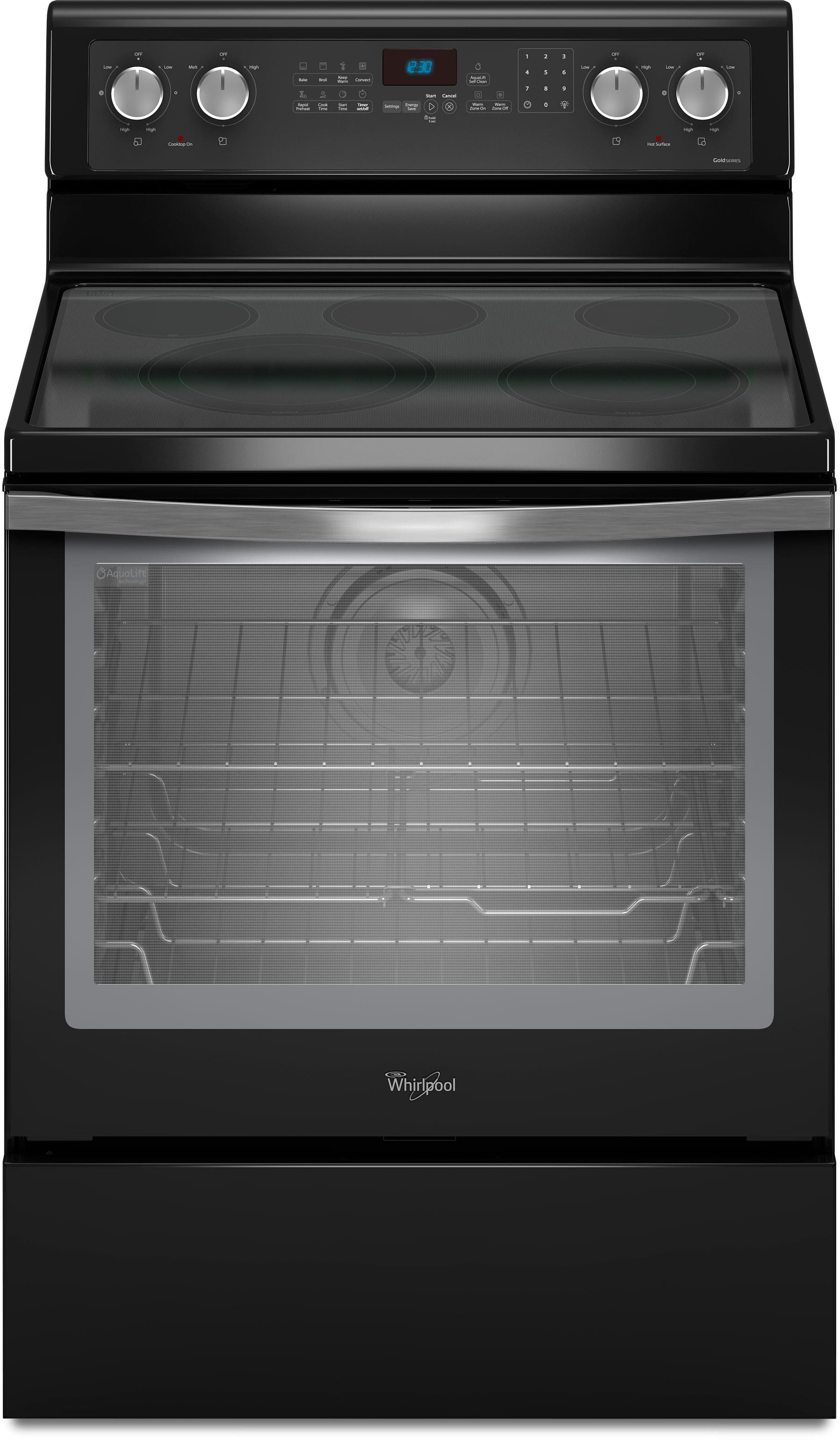 Whirlpool Wfe710h0ae 30 Inch Freestanding Smoothtop