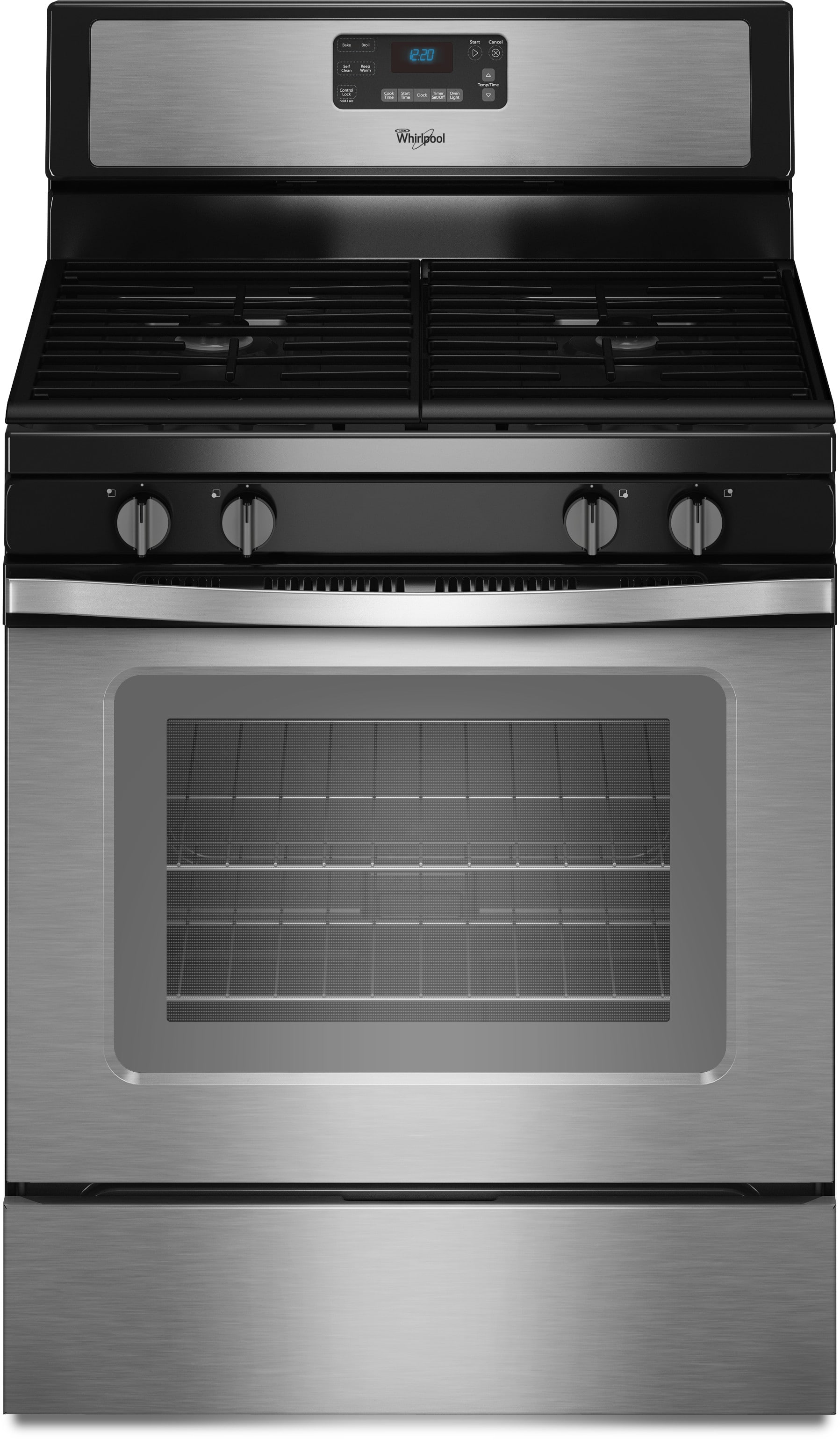 Whirlpool WFG515S0ES 30 Inch Freestanding Gas Range with AccuBake ...