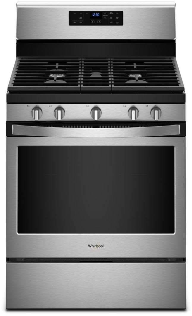 Whirlpool Wfg525s0hs 30 Inch Freestanding Gas Range With