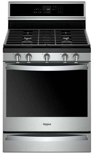 Whirlpool Wfg975h0hz 30 Inch Freestanding Gas Range With