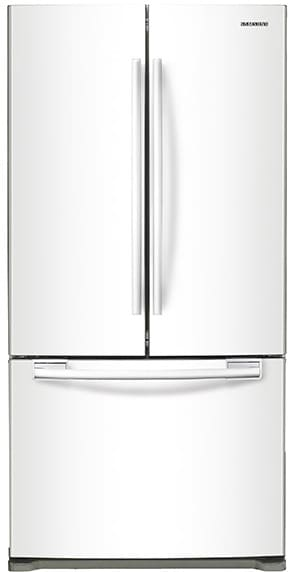 Samsung RF18HFENBWW   33 Inch Counter Depth French Door Refrigerator From  Samsung ...