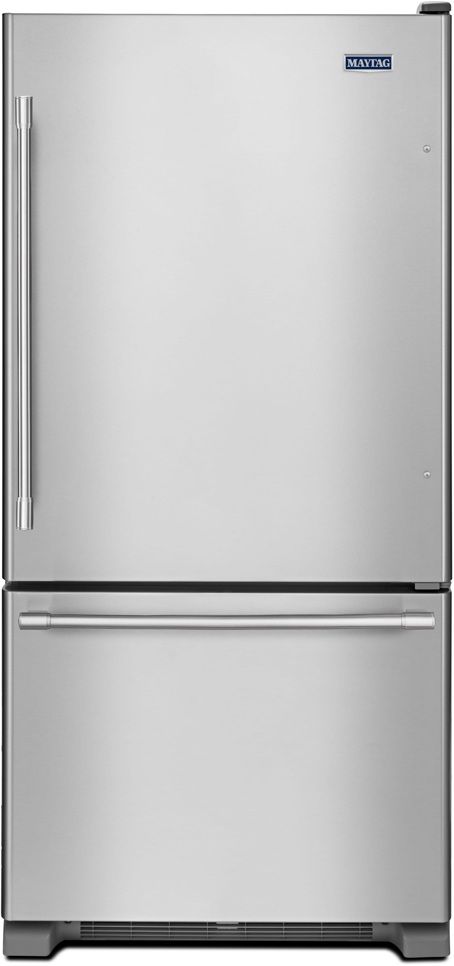 Maytag Mbf1958fez 30 Inch Bottom Freezer Refrigerator With