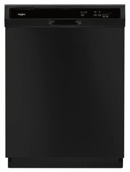 whirlpool wdf130pahb full console dishwasher with heat dry option heavy cycle high temperature. Black Bedroom Furniture Sets. Home Design Ideas