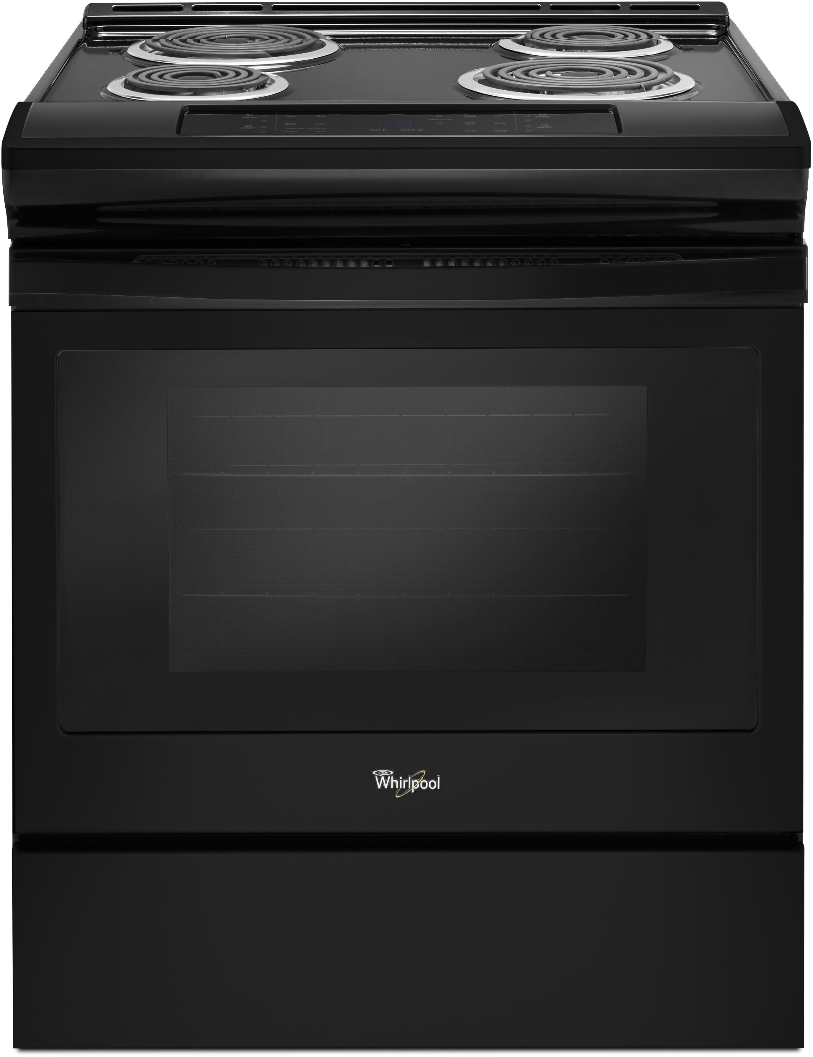 Whirlpool Wec310s0fb 30 Inch Slide In Electric Range With