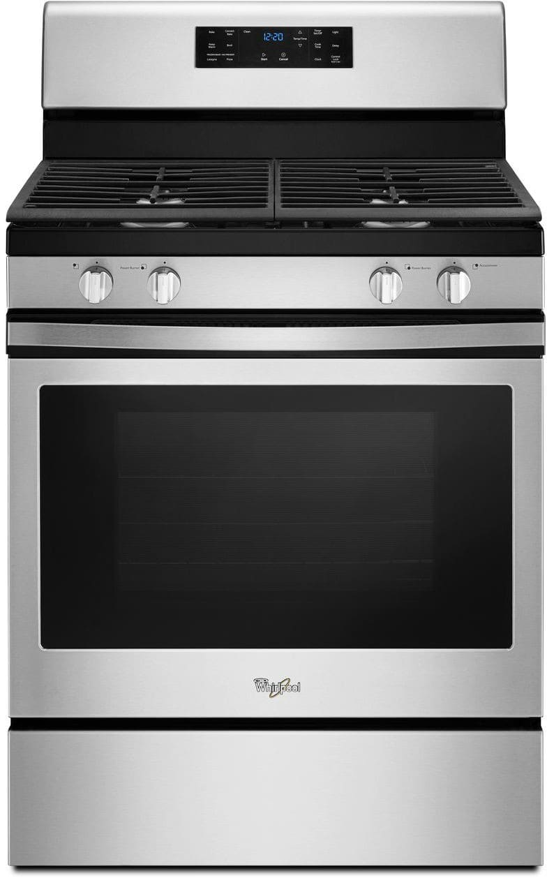 Whirlpool Wfg520s0fs 30 Inch Freestanding Gas Range With 5