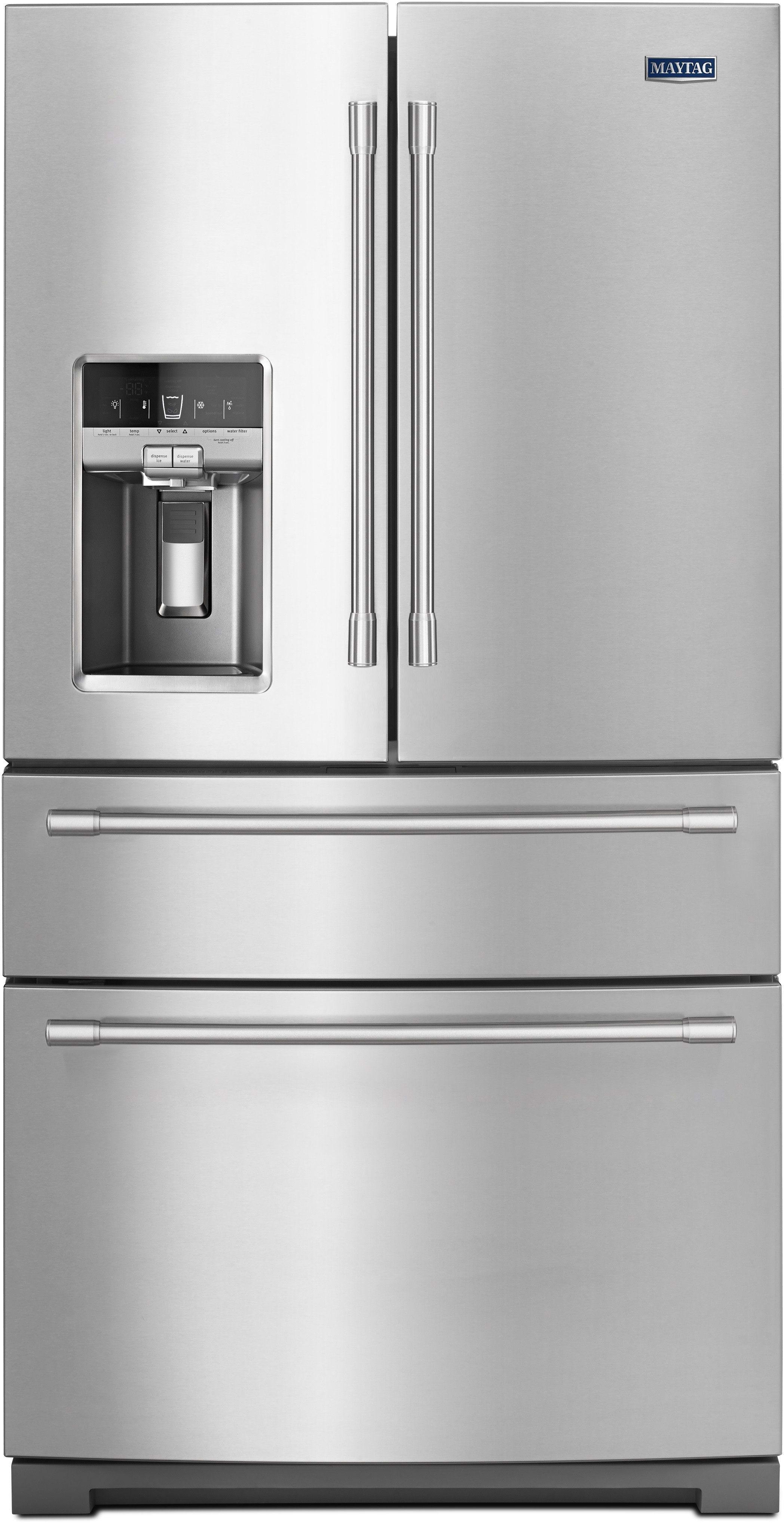Maytag mfx2676frz 36 inch 4 door french door refrigerator - Maytag whirlpool ...