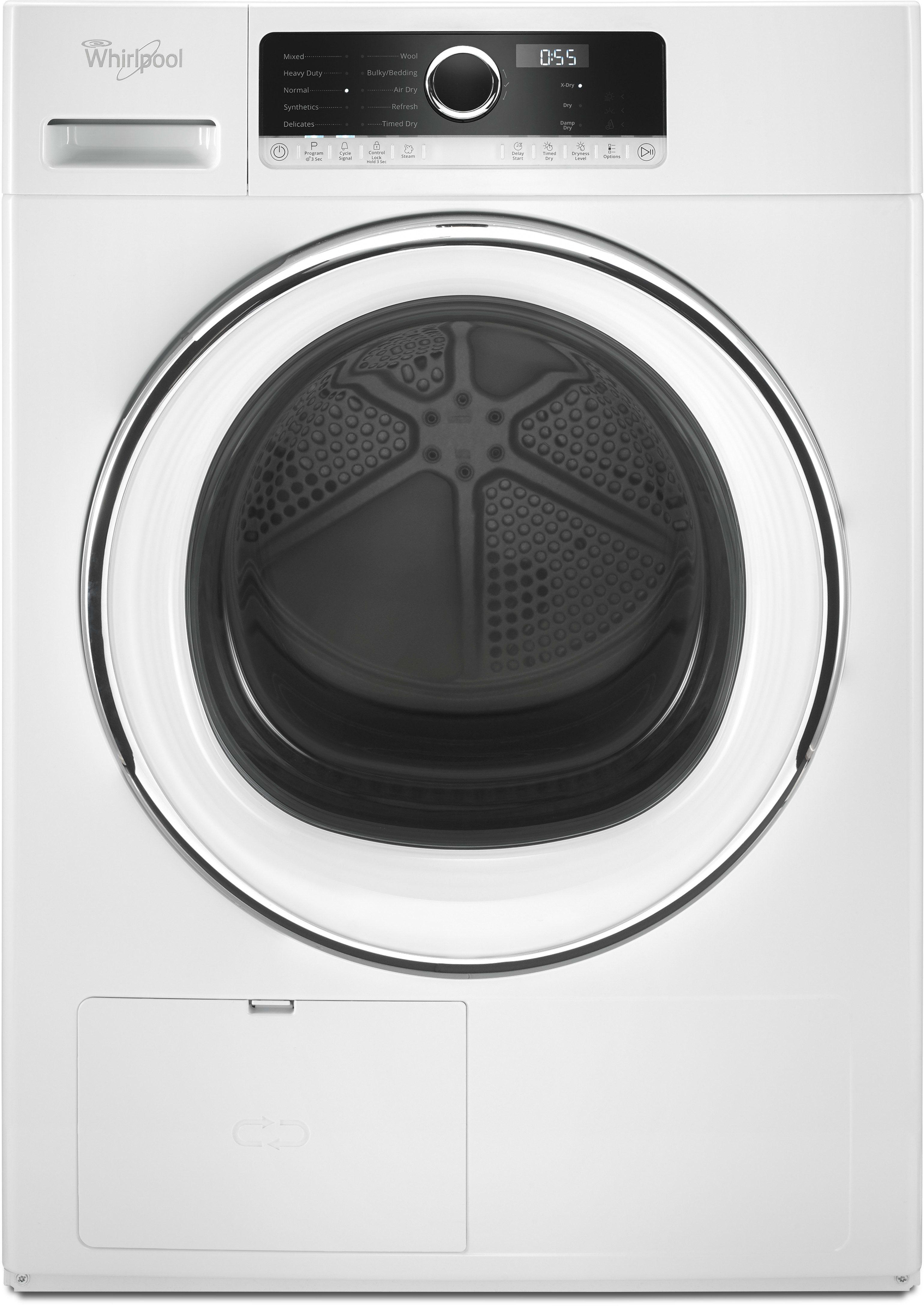 Whirlpool Whd5090gw 24 Inch 4 3 Cu Ft True Ventless Heat