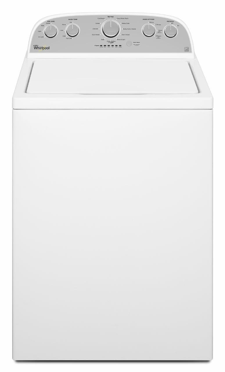 Whirlpool Wtw5000dw 28 Inch Top Load Washer With Presoak