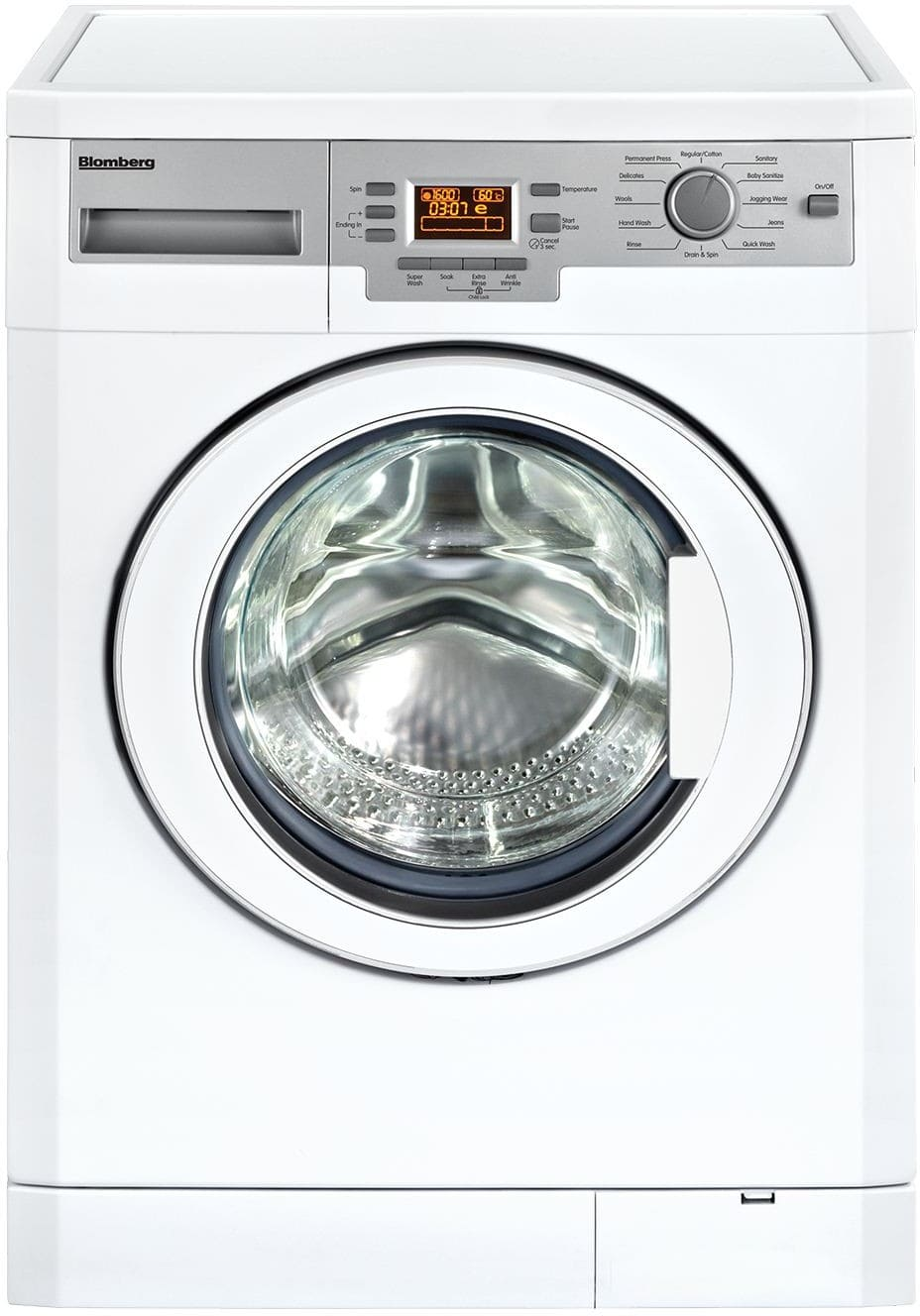 Blomberg Wm77120 24 Inch Front Load Washer With Internal