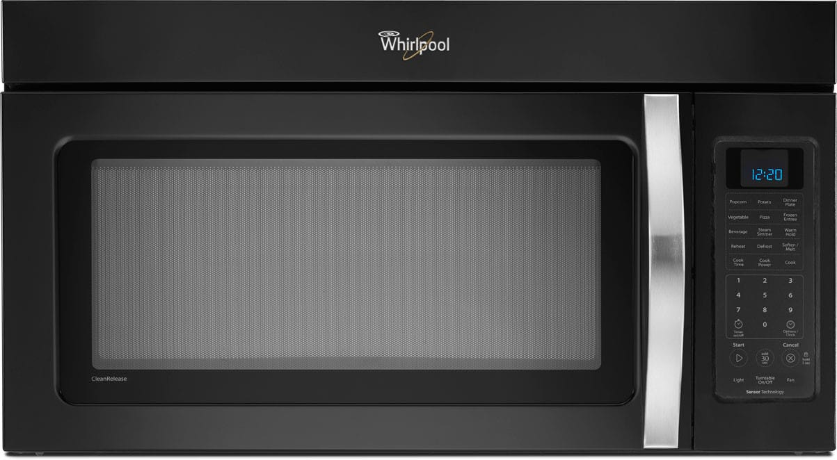 Whirlpool Wmh53520ae 2 0 Cu Ft Over The Range Microwave