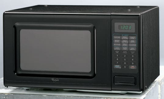 Whirlpool Mt4078skb 0 7 Cu Ft Countertop Microwave Oven