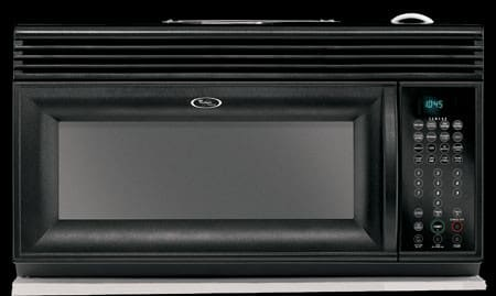 Whirlpool Gh4155xpb 1 5 Cu Ft Over The Range Microwave