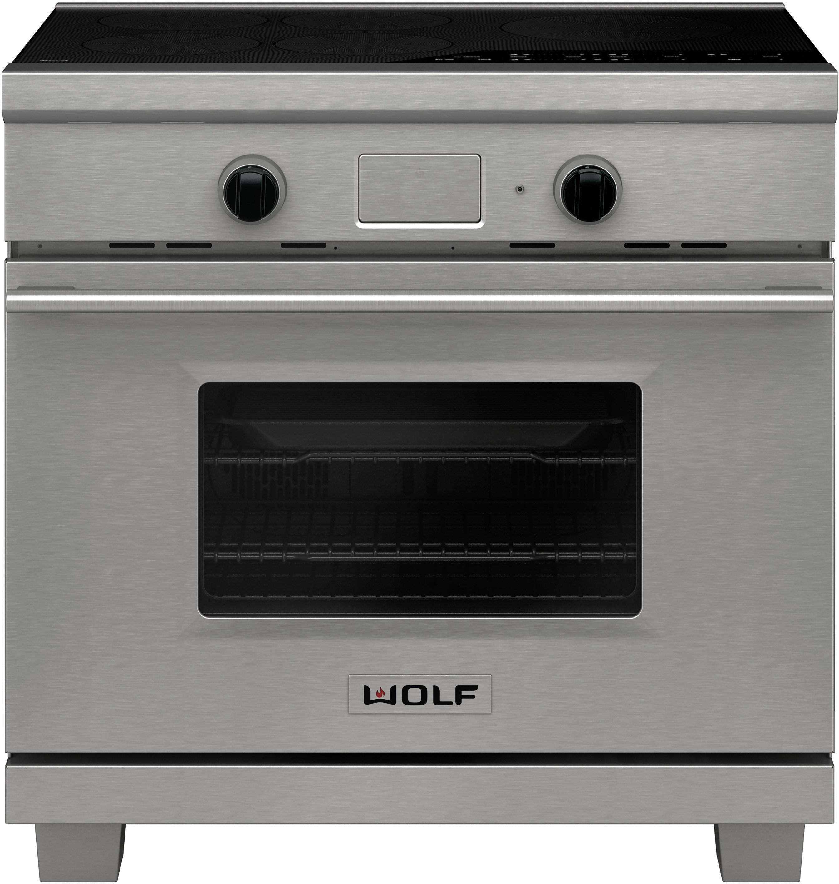 Wolf Ir365testh 36 Inch Induction Range With 5 3 Cu Ft