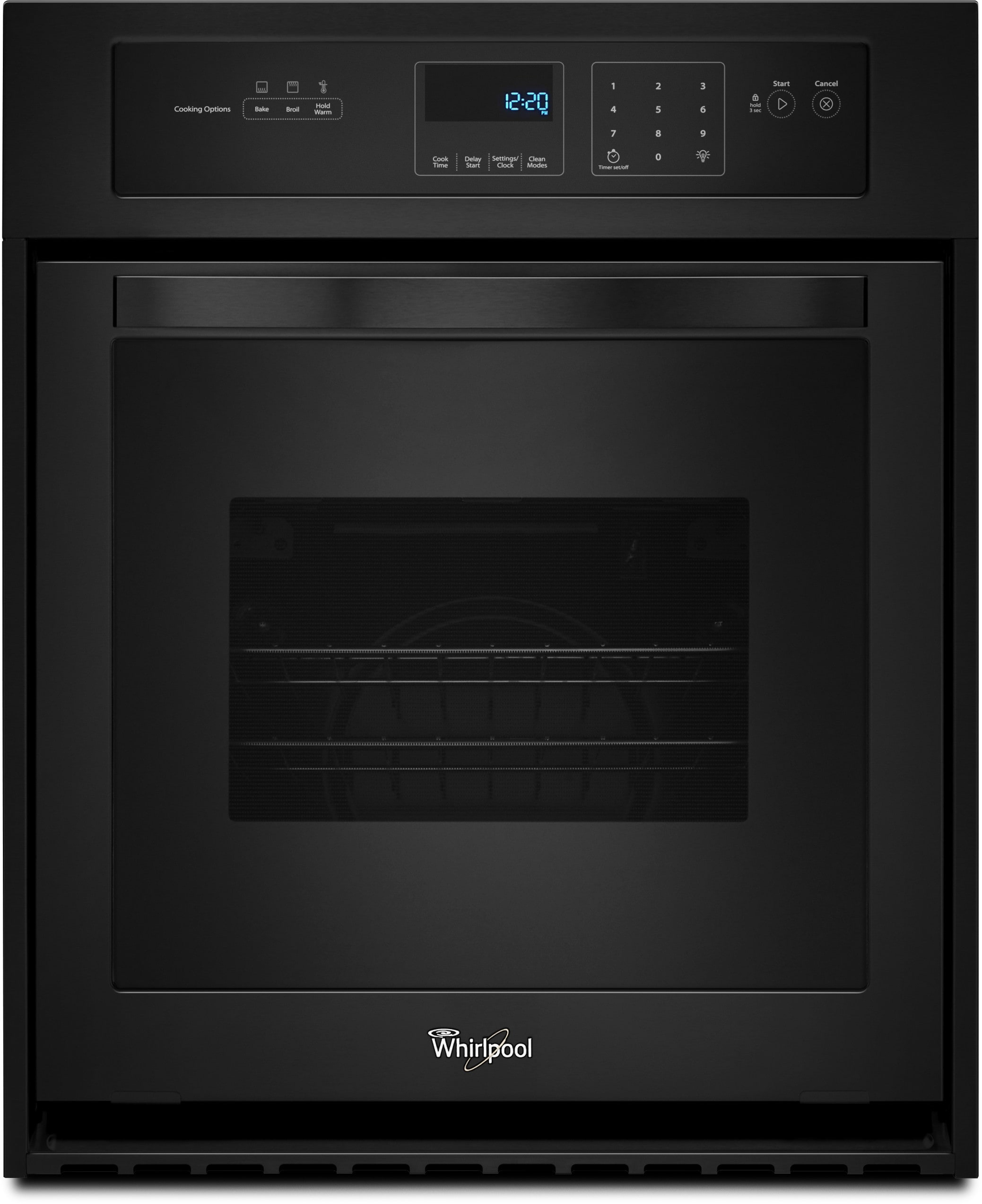 Whirlpool Wos51es4eb 24 Inch Single Electric Wall Oven