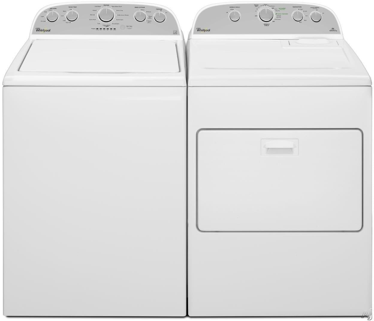 Whirlpool Wpwadrgw15 Side By Side Washer Amp Dryer Set With