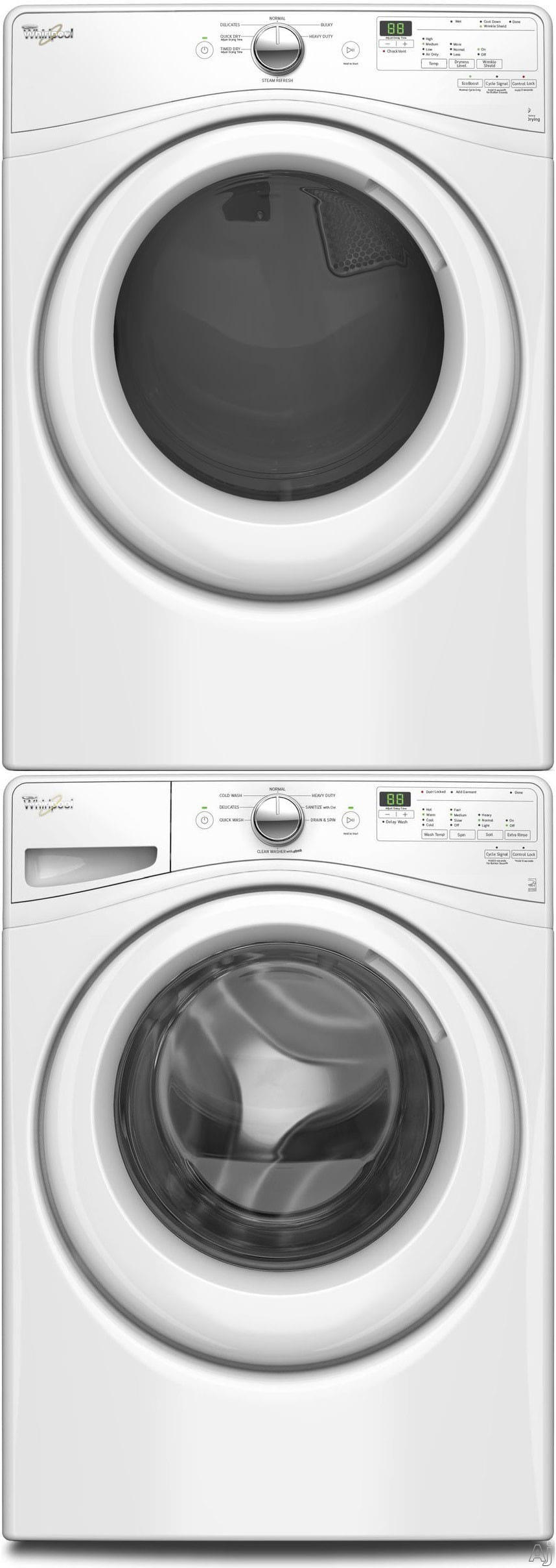 Whirlpool Wpwadrgw75903 Stacked Washer Amp Dryer Set With