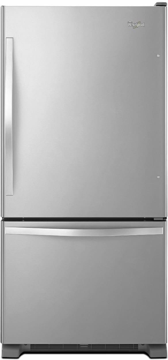 Whirlpool Wrb322dmbm 33 Inch Bottom Freezer Refrigerator