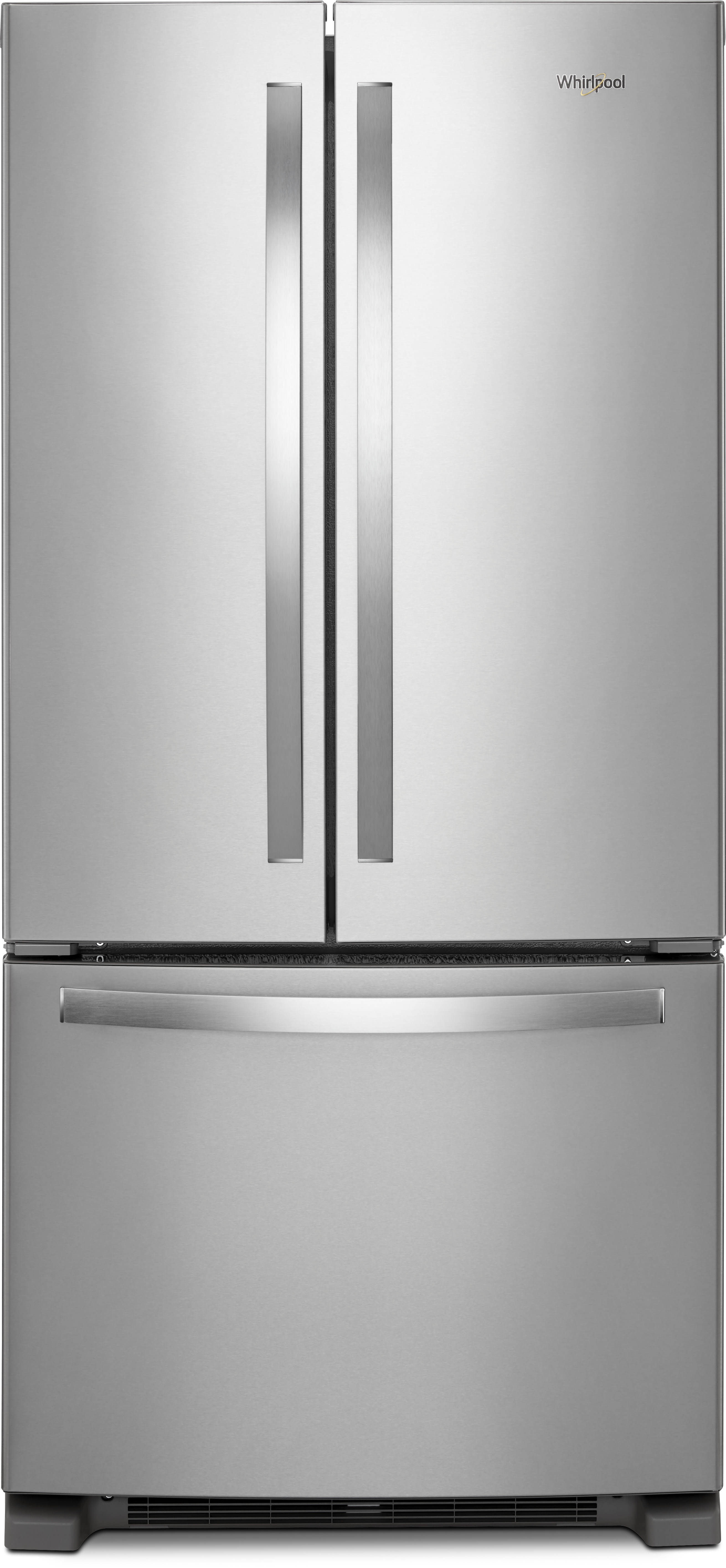whirlpool wrf532smhz 33 inch french door refrigerator with accu