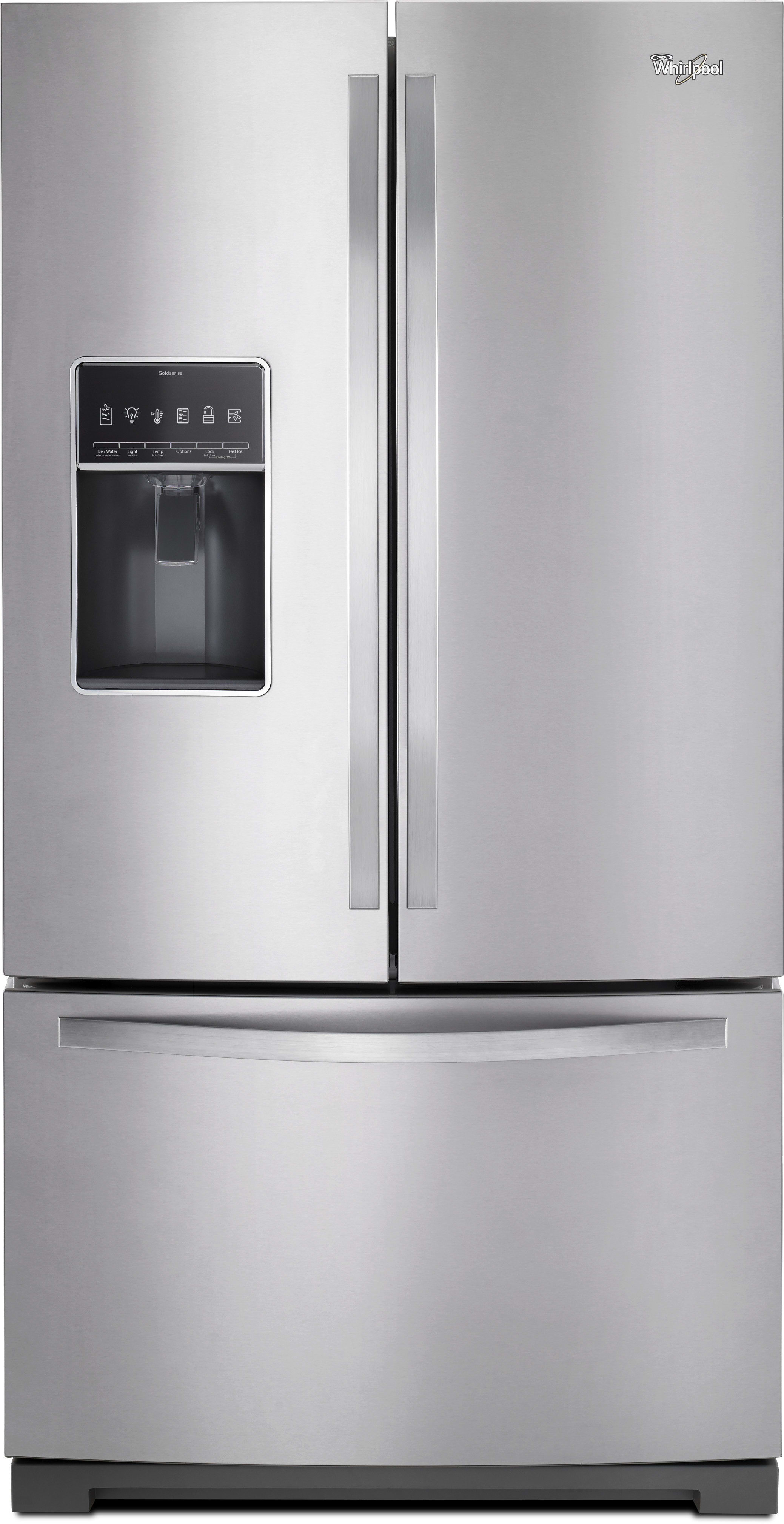Whirlpool Wrf757sdem 36 Inch French Door Refrigerator With