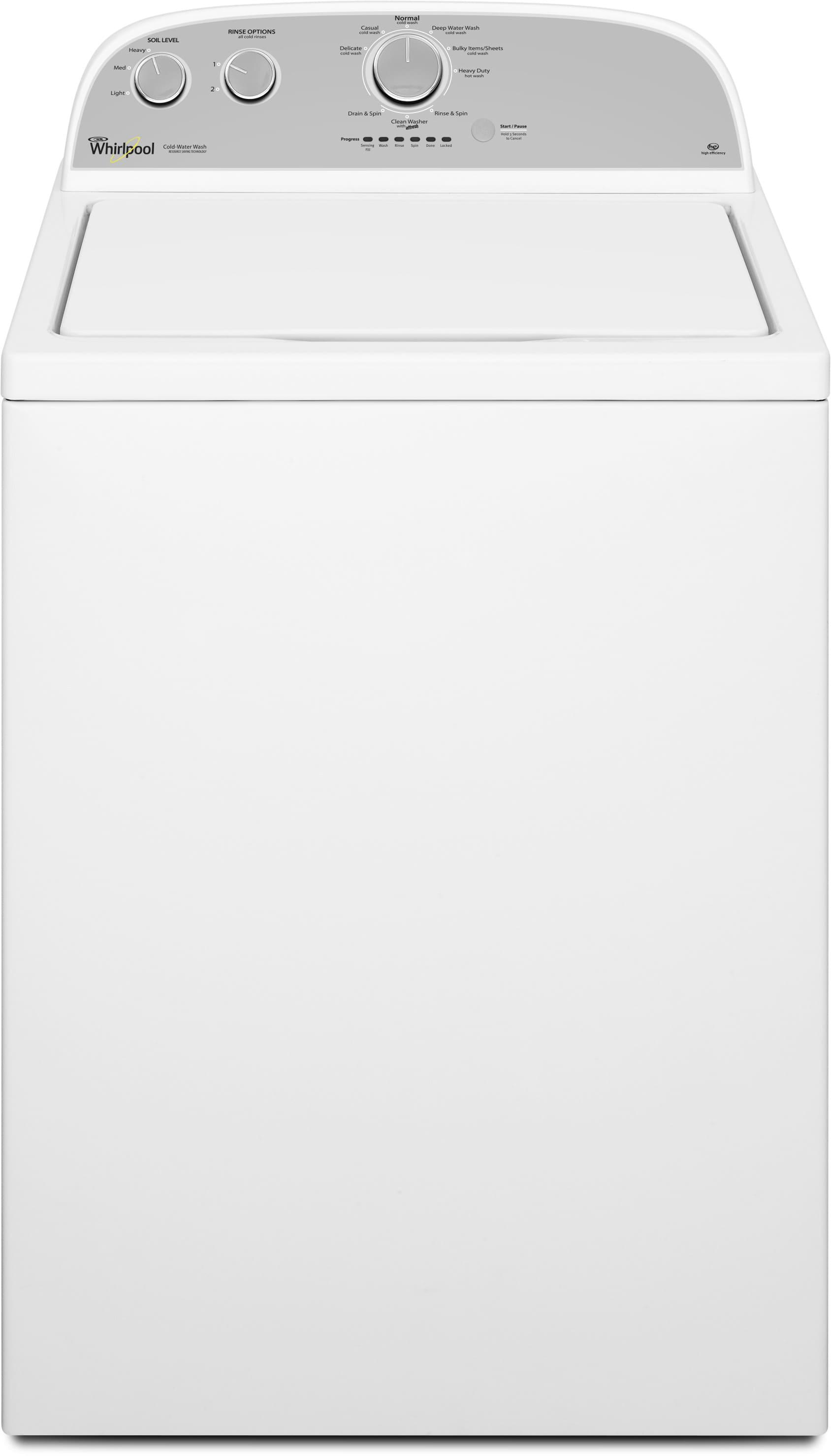 Whirlpool Wtw4715ew 27 Inch 3 5 Cu Ft Top Load Washer