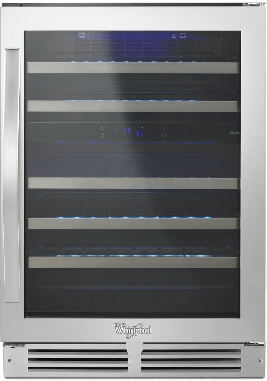 whirlpool in wine cooler wuw55x24ds - Built In Wine Fridge