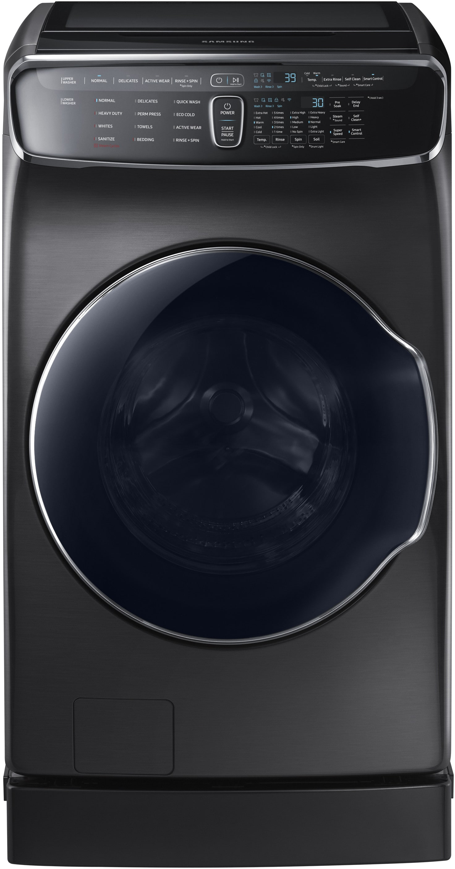 Samsung Wv60m9900av 27 Inch Flexwash Smart Washer With
