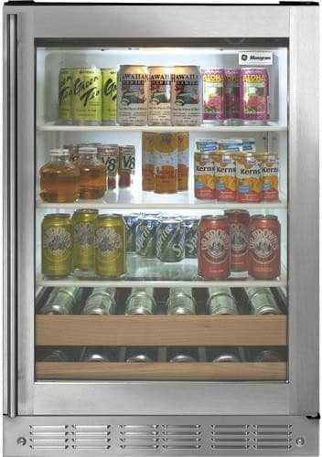 Monogram Zdbr240hbs 24 Inch Undercounter Beverage Center
