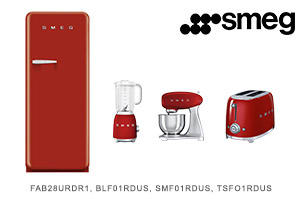 Smeg Retro Kitchen Appliance Package