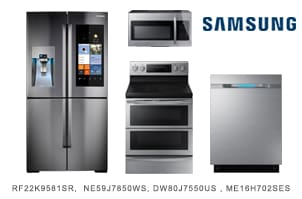 Samsung Stainless Steel Innovative Kitchen Package