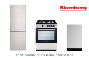 Blomberg 3-Piece Apartment-Sized Kitchen Appliance Package